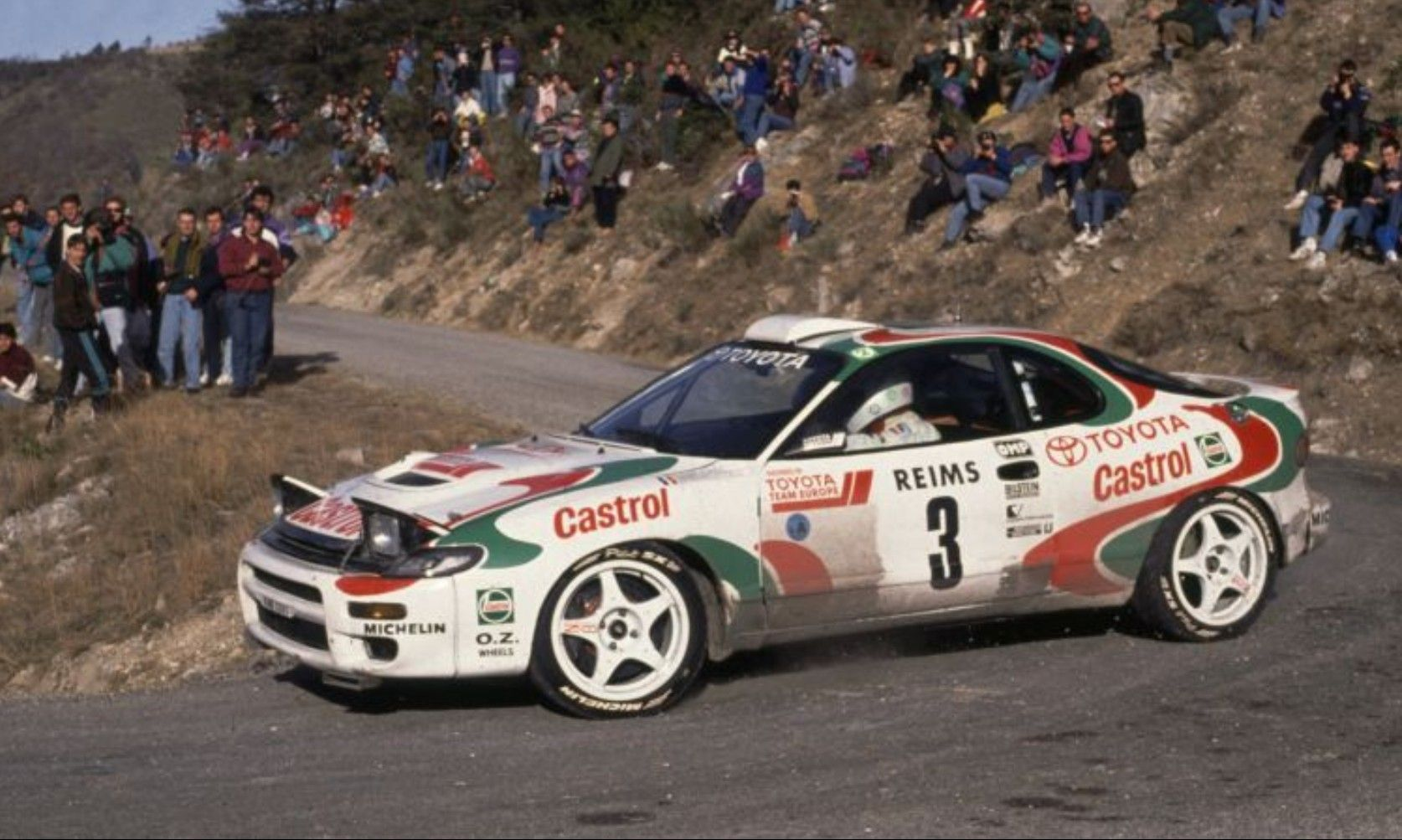 Toyota Celica Rally TTE Monte Carlo Win Didier Auriol   Toyota ...