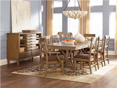 Shop for Signature Design RECT DRM Extension Table Top, D601-45T, and other Dining Room Tables at Darby's Big Furniture in Lawton, OK. The rich rustic beauty of the Danbury Heights dining collection features a warm natural aged finish beautifully adorning the plank-match veneer table top details and tool chest style of the server to create a relaxing furniture collection that fits perfectly in any dining experience.