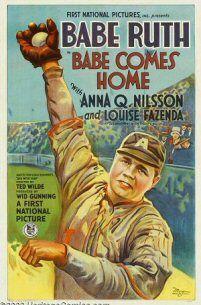 BABE COMES HOME  Babe comes home (Ted Wilde ,1927)  Precio: 138.000 dólares  Vendido: Noviembre 2003 en Heritage  Tamaño: 68x124 cm