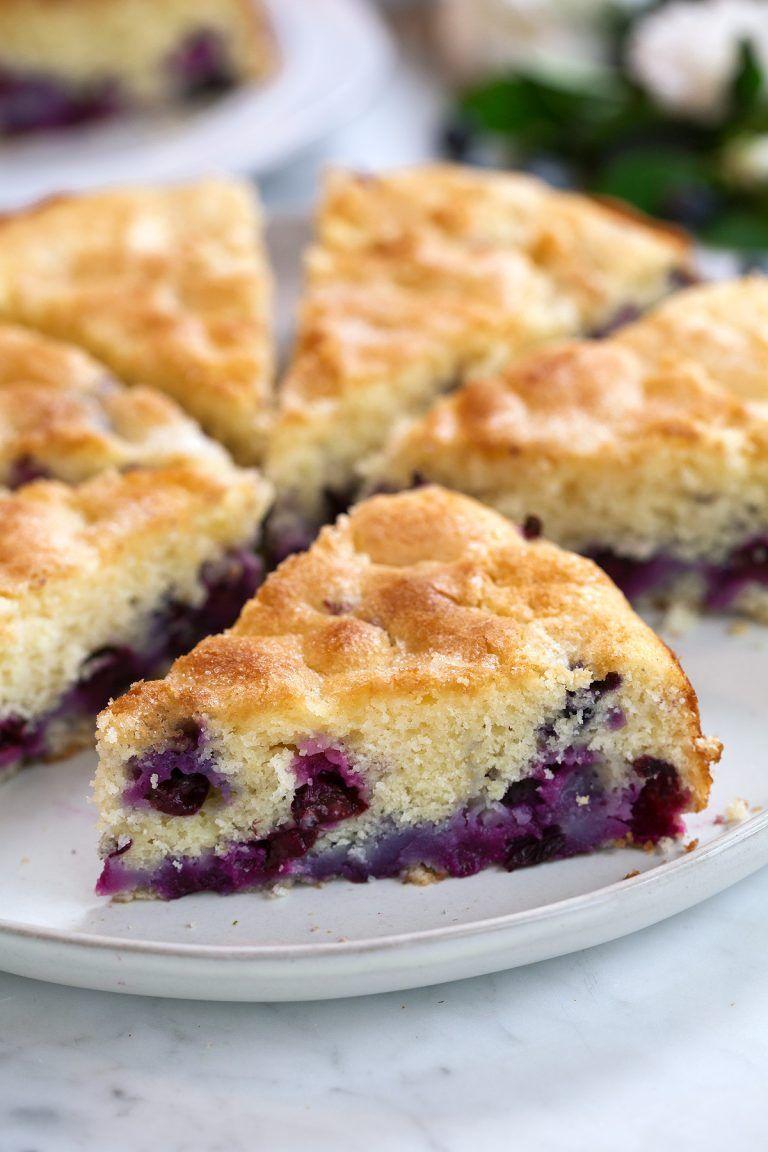 blueberry buttermilk cake Breakfast coffee cake, No cook