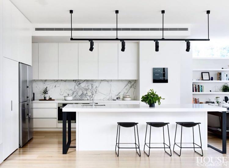 97 Fancy Black And White Kitchen Ideas Home Decor Kitchen