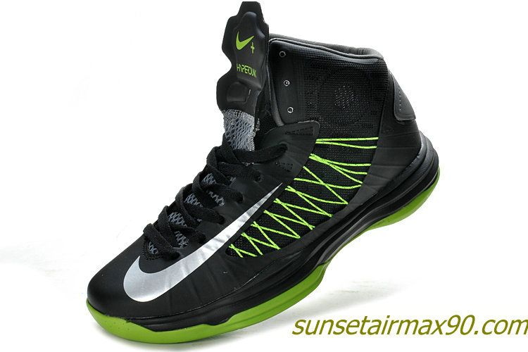 competitive price 96589 d01bf Nike Lunar Hyperdunk 2012 Review Black Fluorescent Green 535359 102