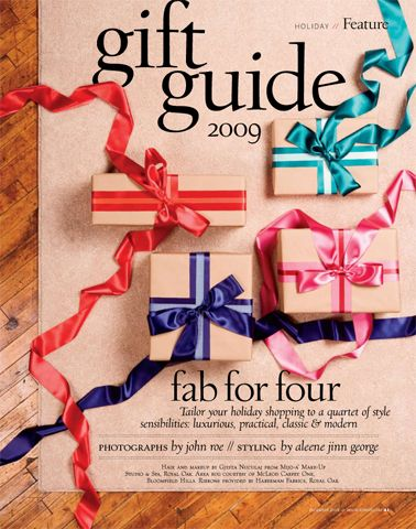 Christmas Gift Guide Layout.Really Cute Gift Guide Idea Stop The Presses Gift