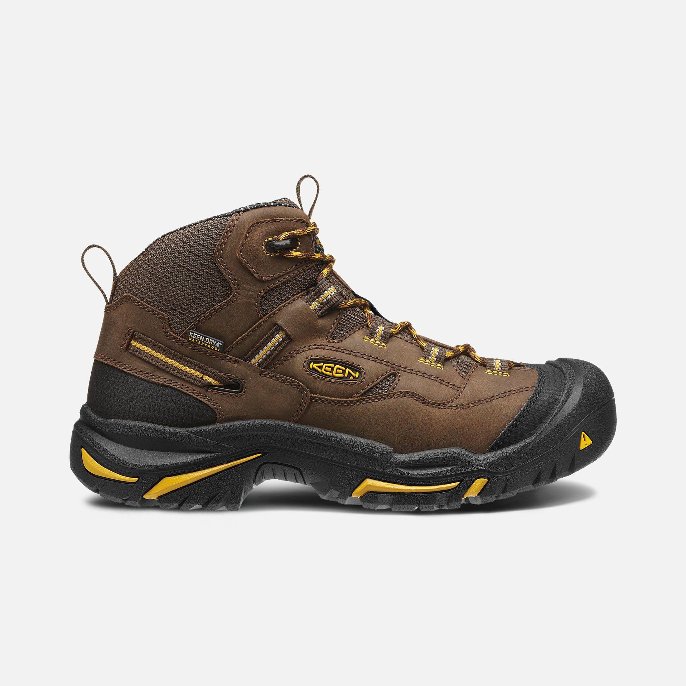 Keen Men S Waterproof Hiking Boots Braddock Mid Soft Toe 8 5