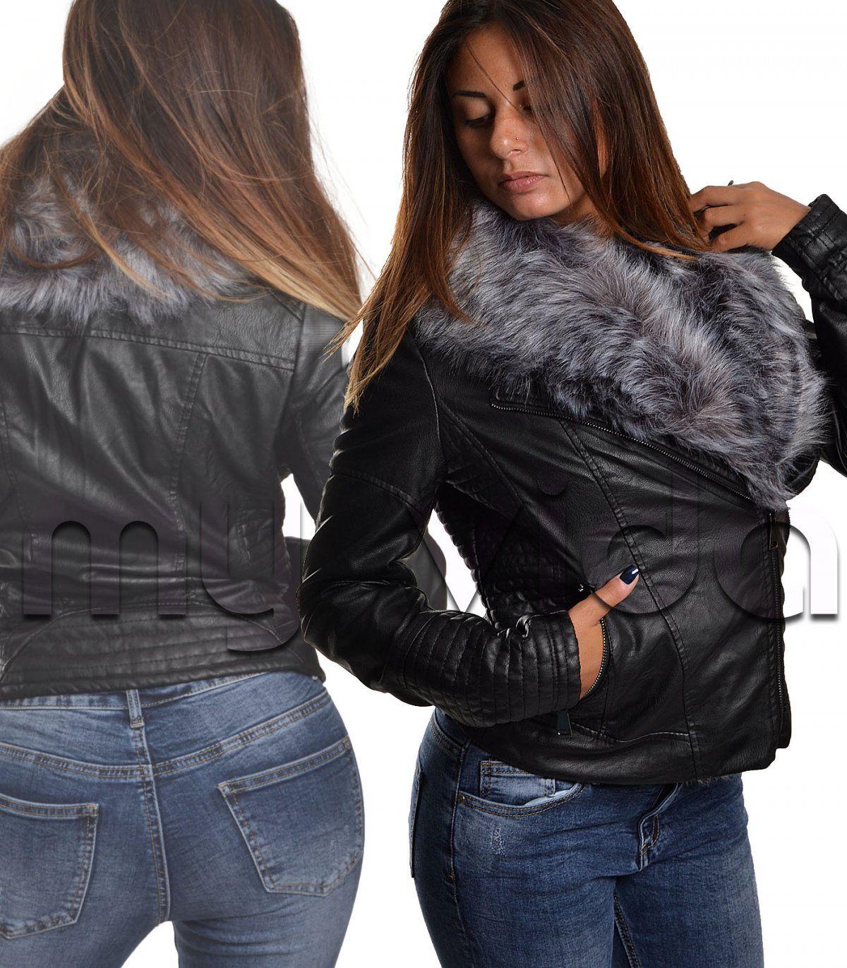 huge discount 0a688 b3d9c Pin su Donna giubotti giacche