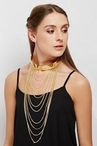 Multi Chain Chocker Necklace