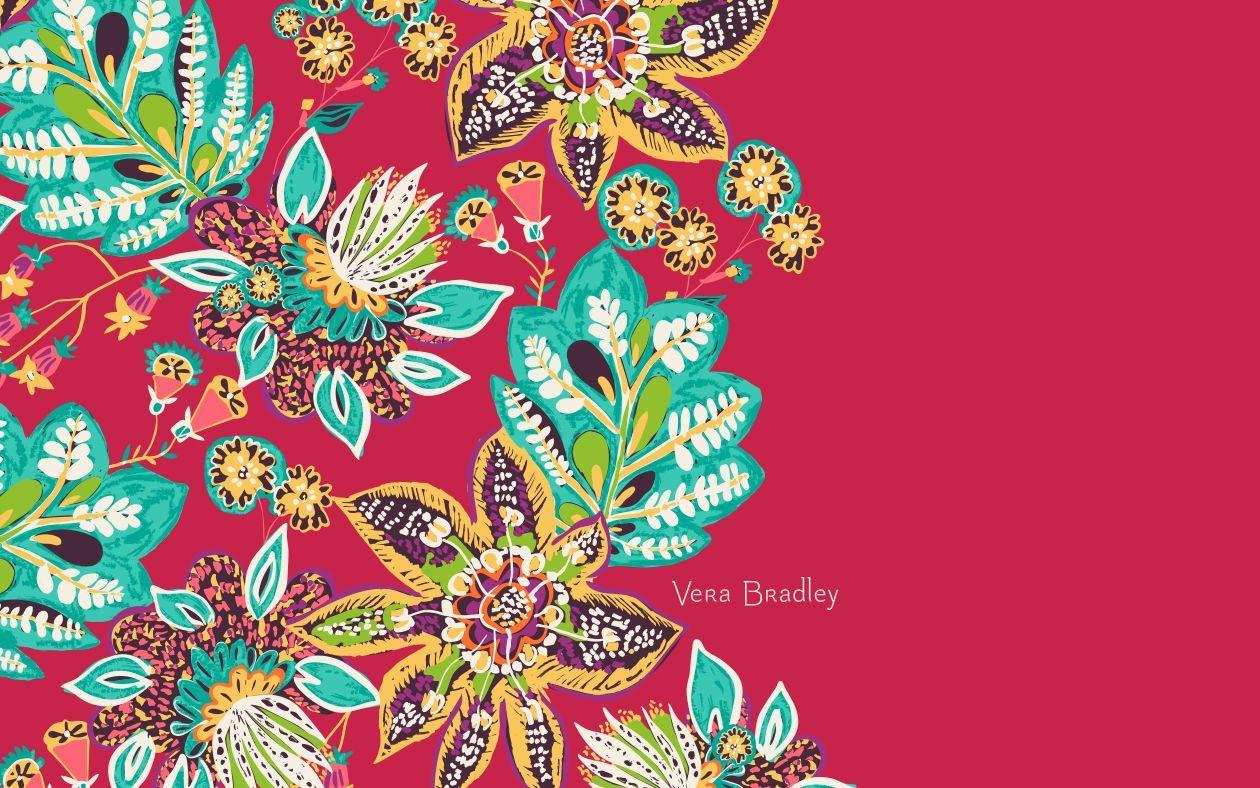 Vera Bradley Rumba Desktop Wallpaper Flower Wallpaper Wall