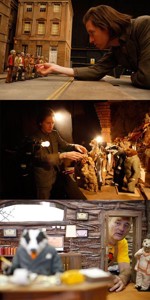 Wes Anderson & Mr. Fox