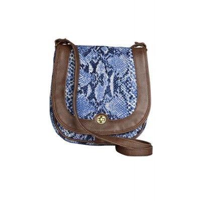 BRAG Blue Hide Sling Bag