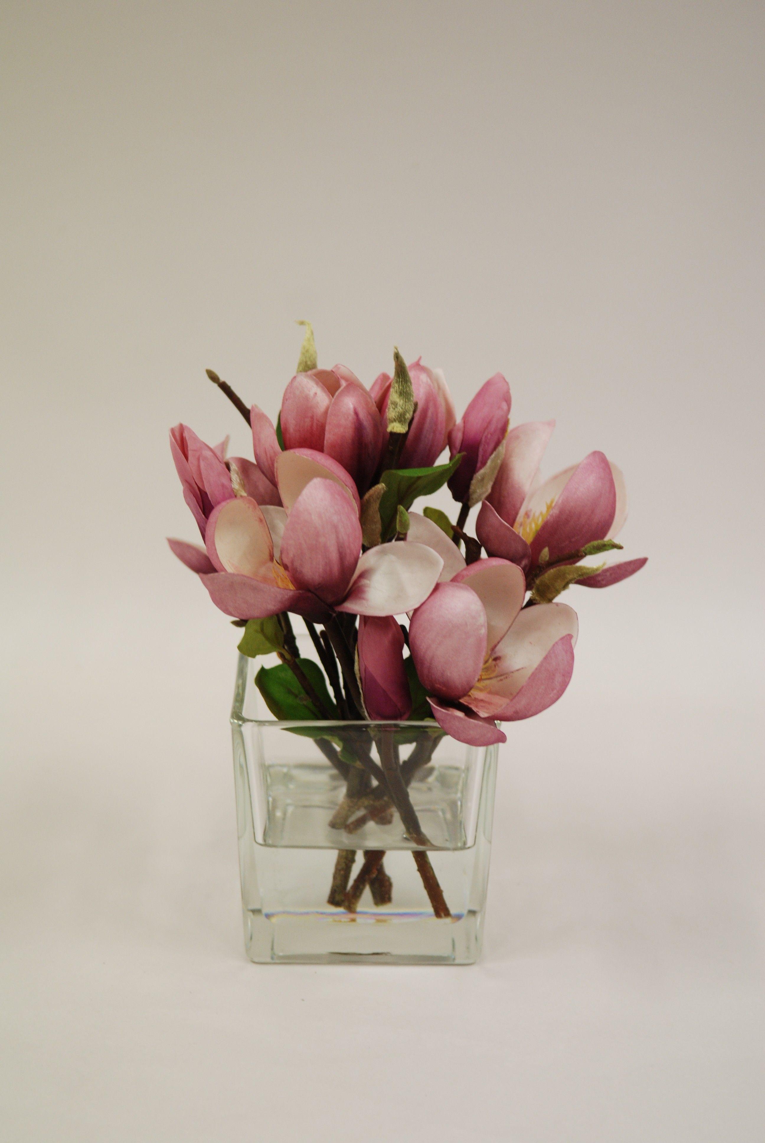 composition carree magnolia sign e emilio robba deco nature fleurs plantes pinterest. Black Bedroom Furniture Sets. Home Design Ideas