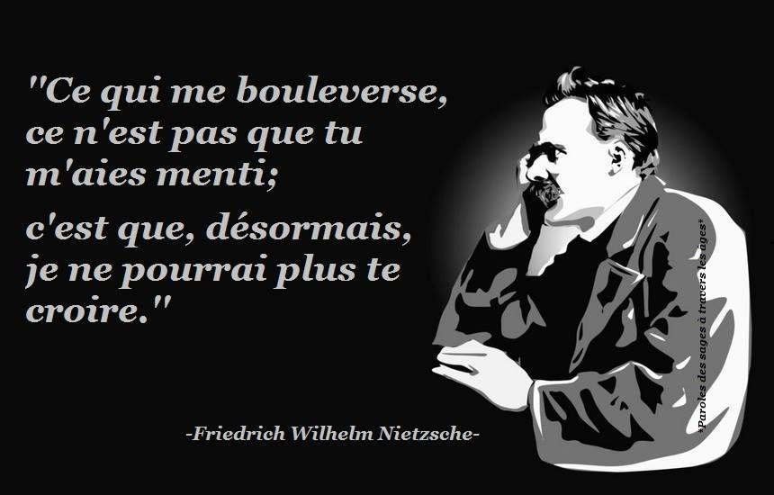 Citation Nietzsche Ainsi Parlait Zarathoustra : Citation f nietzsche