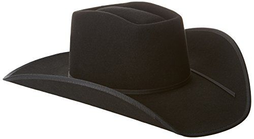Tony Lama Men s Brick-3X with Brim Binding Wool Blend Cowboy Hat bf79170cd007