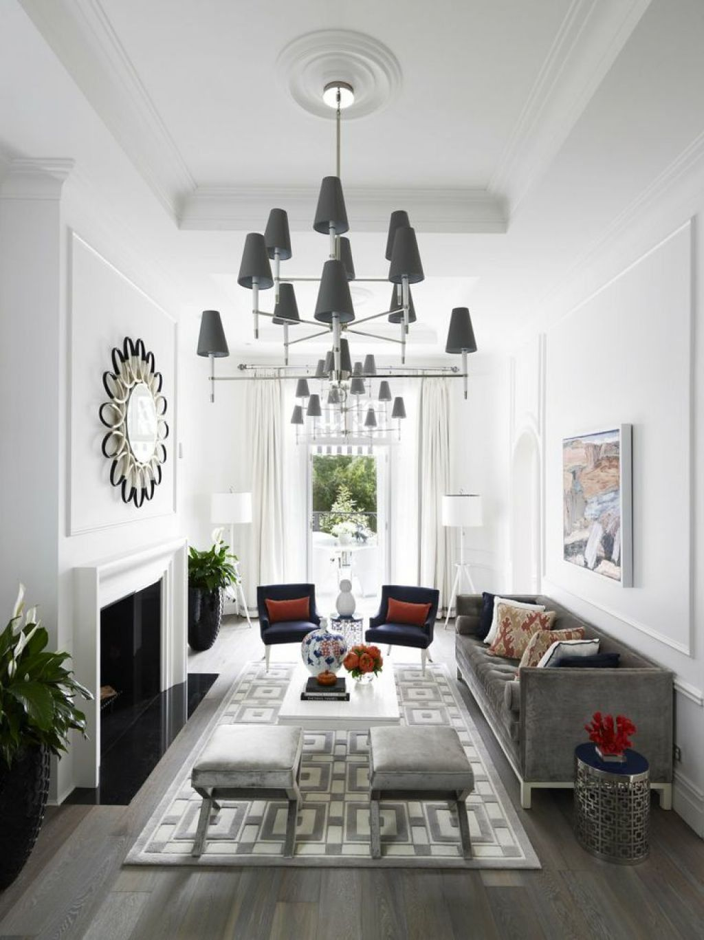 Long Narrow Room Design: Ways To Decorating A Narrow Living Room In 2019