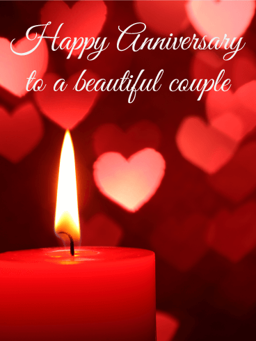 Send Free To A Wonderful Couple   Happy Anniversary Card To Loved Ones On  Birthday U0026 Greeting Cards By Davia. Itu0027s Free, And You Also Can Use Your  Own ...  Anniversary Card Free