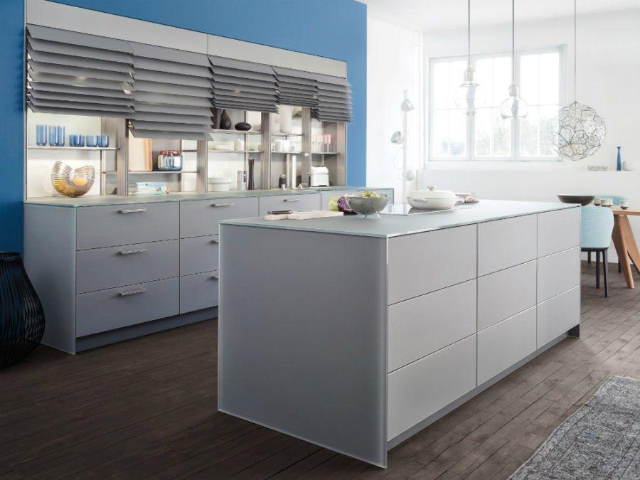 Contemporary Leicht Küchenausstattung Shutters