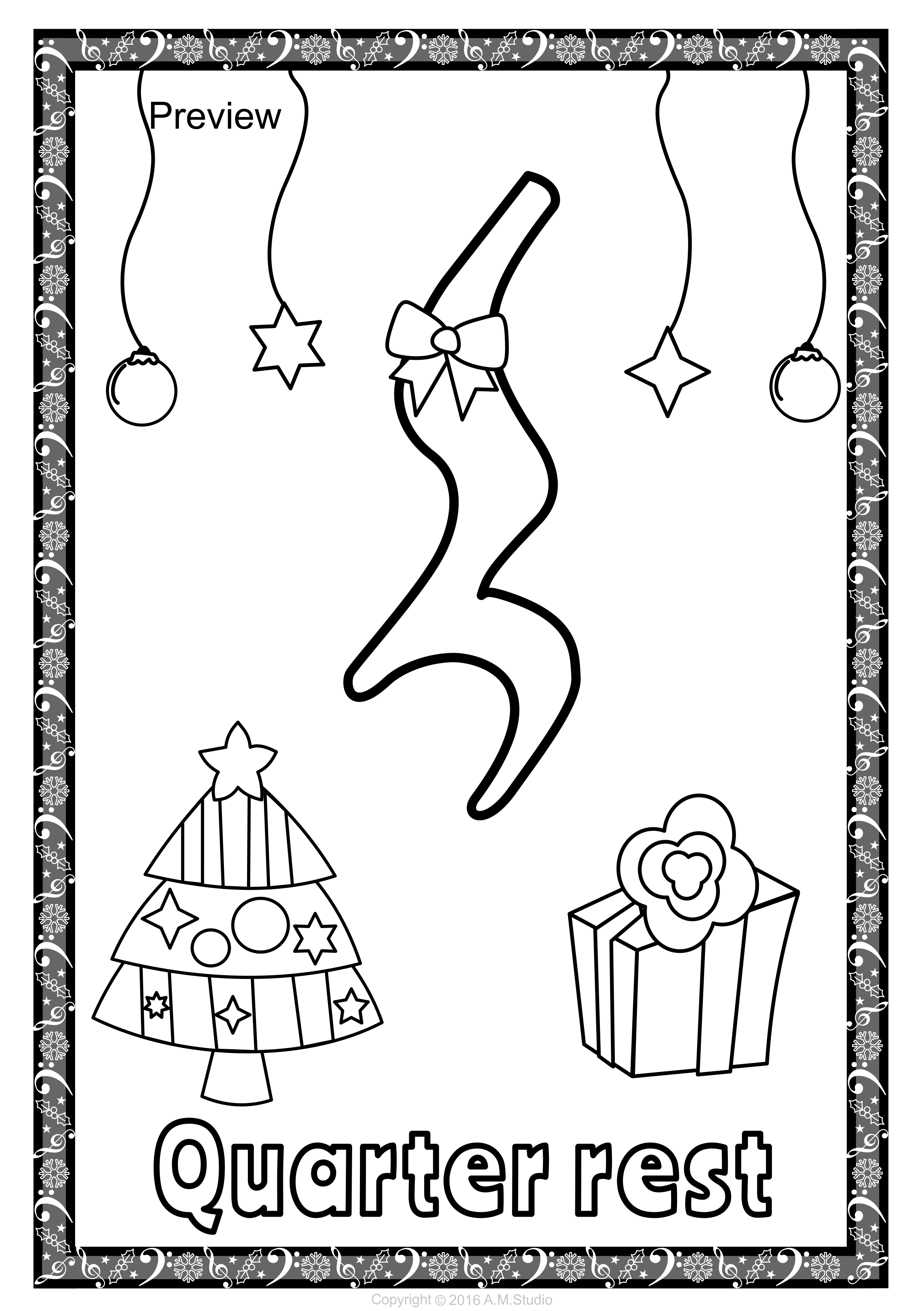 christmas musical posters for coloring  musicals music