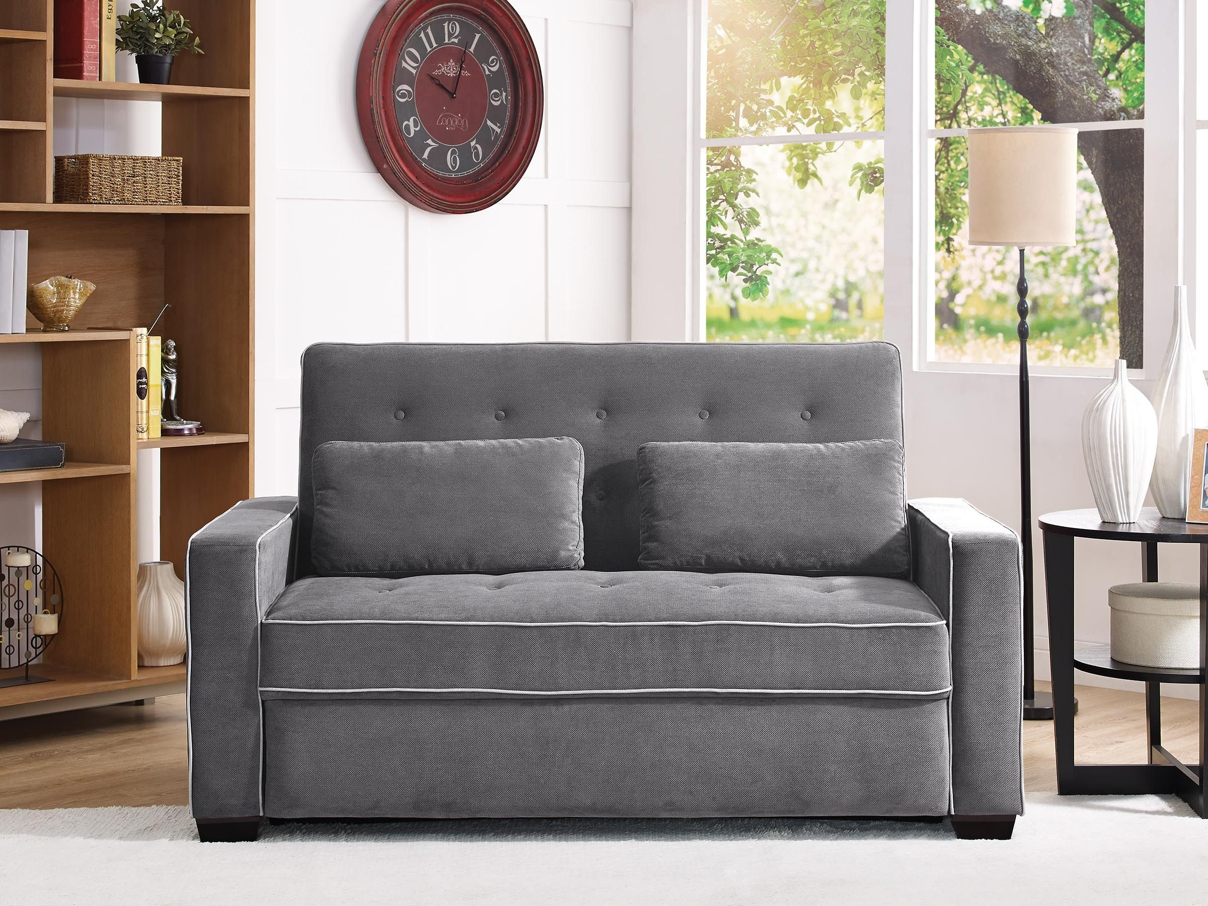 Augustine (Queen) Pull out bed, Queen beds, Futon couch