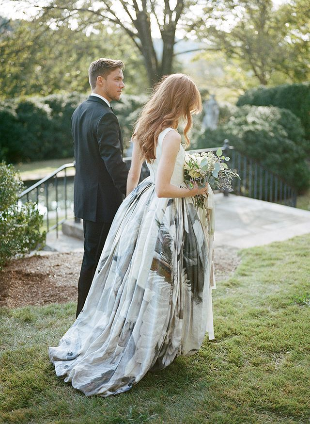 19 Non Traditional Wedding Dress Ideas Traditional Wedding Dresses Nontraditional Wedding Floral Wedding Gown