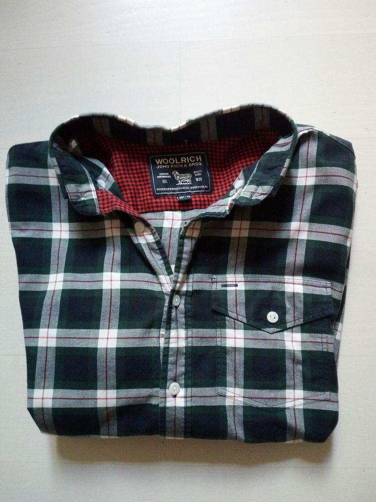 Uomo it Taglia S Camicia Ebay Woolrich AYBT5Pwqx Nuova Quadri Come wXnaFIaHq