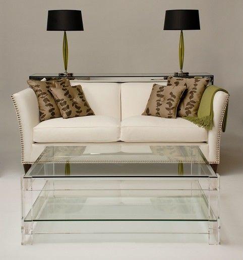 Carew Jones Acrylic Plexigl Lucite Coffee Table