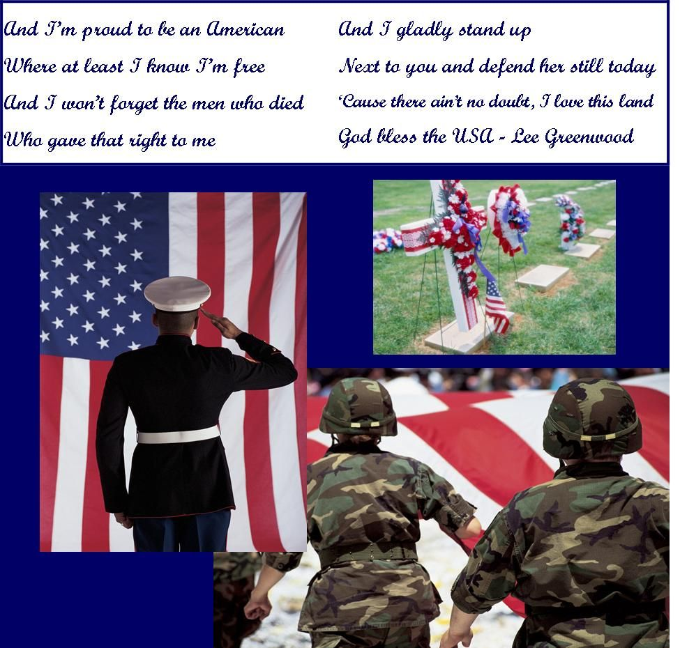 Proud To Be An America Chorus Song Lyrics - Lee Greenwood ...
