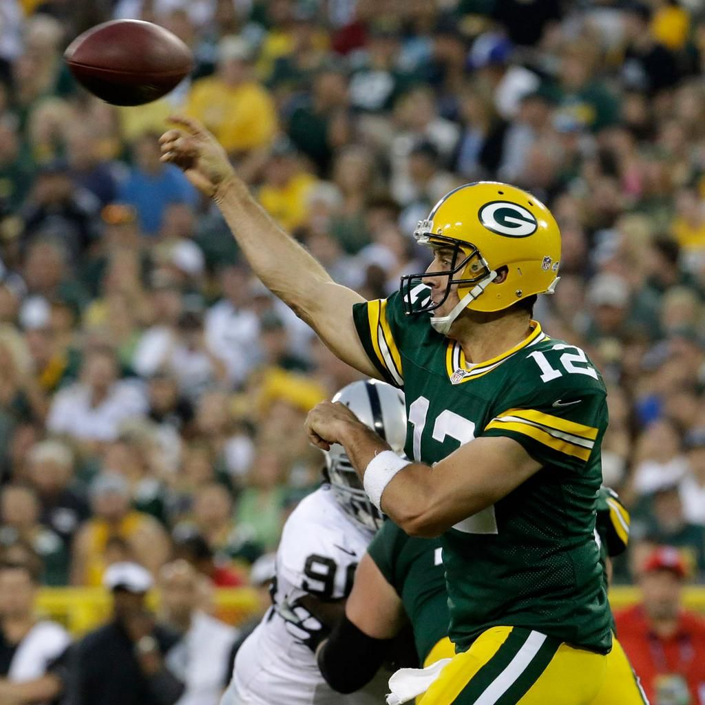 Nfl On Twitter Rodgers Packers Packers Nfl