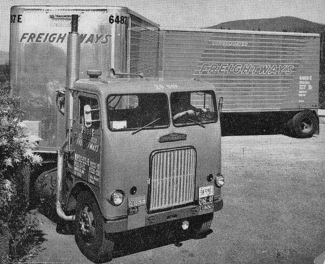 1954 Freightliner Wft 5842 Freightliner Freightliner Trucks Big Trucks