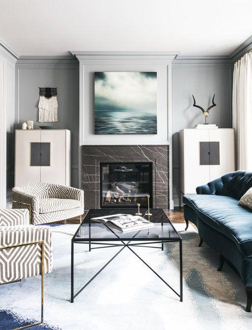 Designer Living Rooms Custom Lauren Nelson Design  Sf New Build  Living Room  Our Home Design Decoration