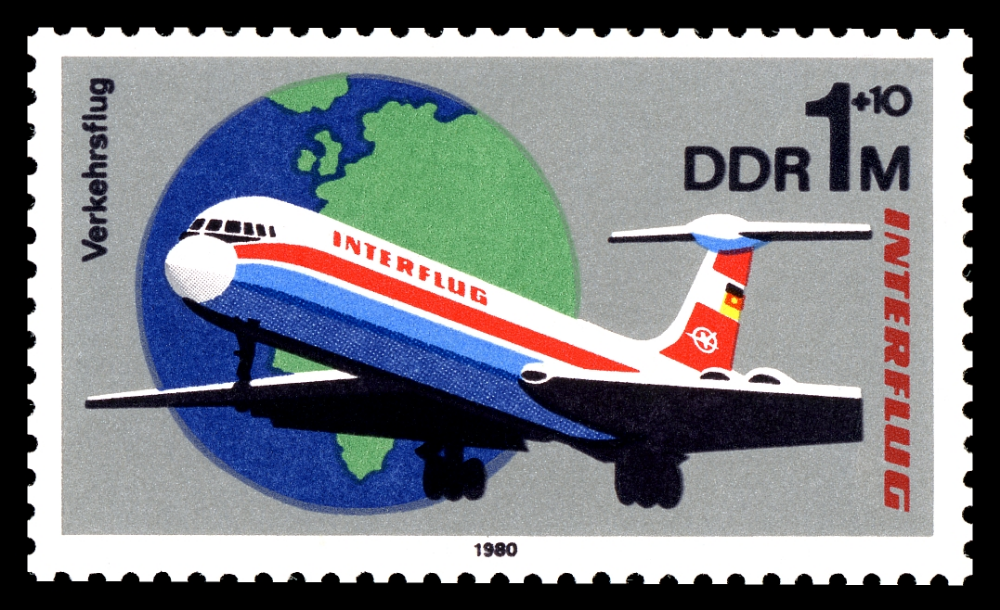 Briefmarken 1980 der Deutschen Post der DDR 25 Jahre