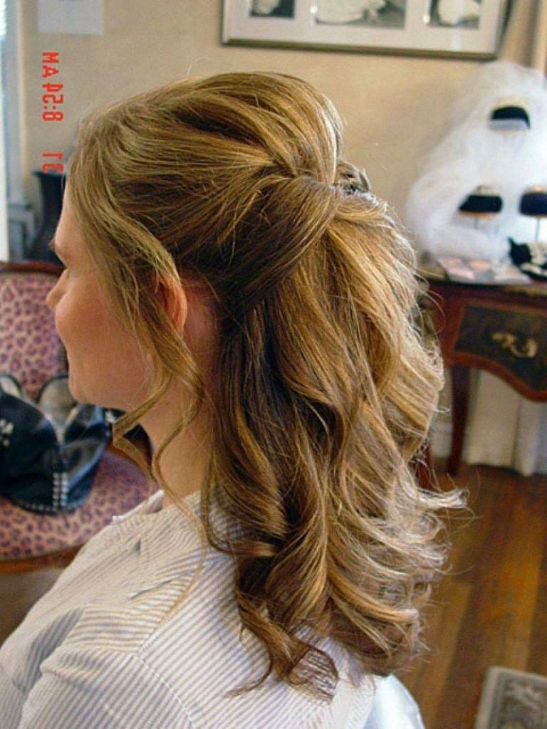 The One Thing to Do for Wedding Hairstyles Half up Half down ...