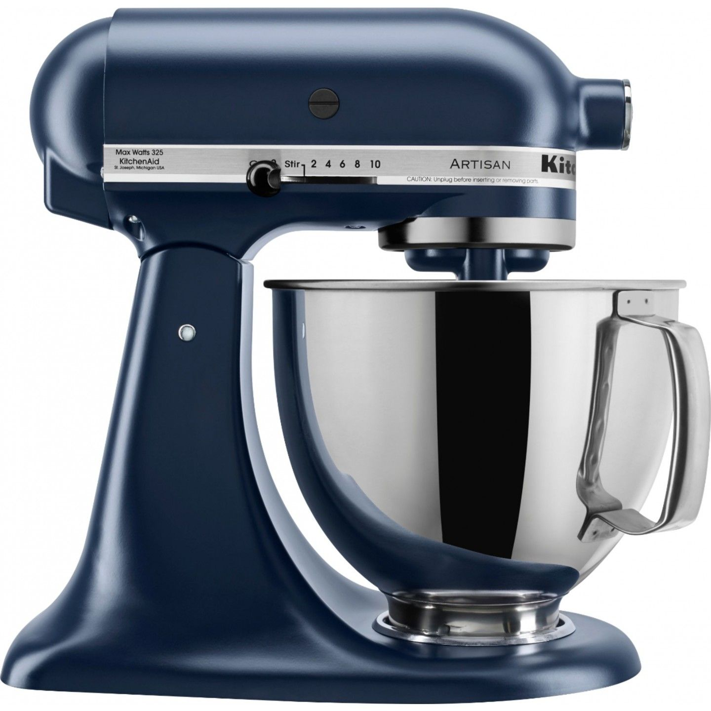 Kitchenaid 47 l artisan ink blue tilthead stand mixer 5