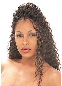 Wet And Wavy Box Braids Google Search