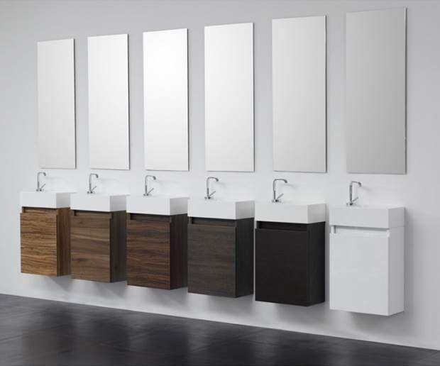 Badmöbel Für Das Gäste Wc | Minimize Your Bathroom | Pinterest
