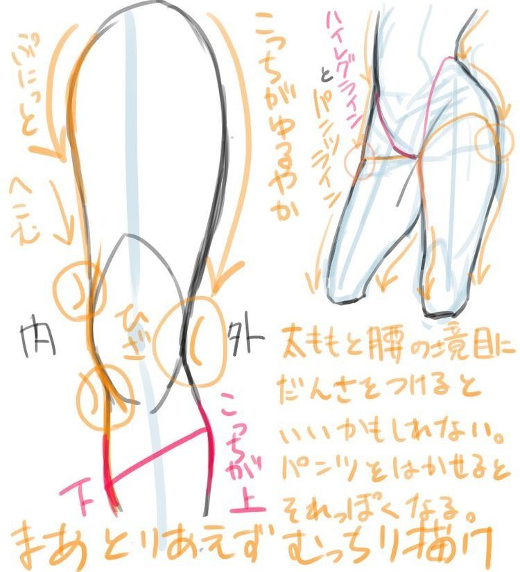 Pin by Niklas Norman on 絵の書き方 | Anatomy tutorial, Tutorial, Art reference poses