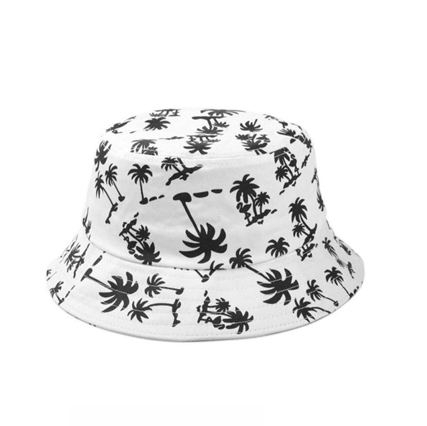 White Unisex Bucket Hat Bollehat