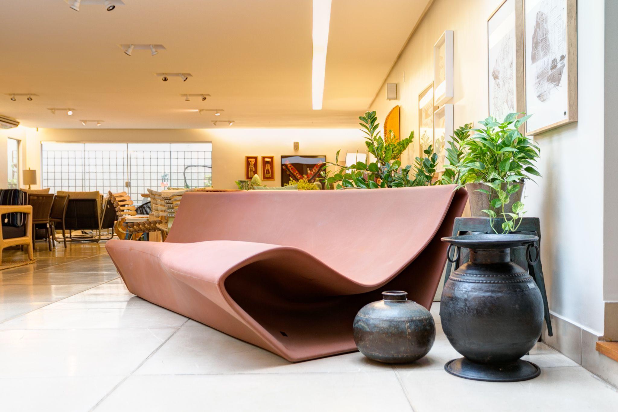 Sofa Rph Chocolate Brown Leather Ebay Design Fabio Novembre A Lot Of Brasil Linha