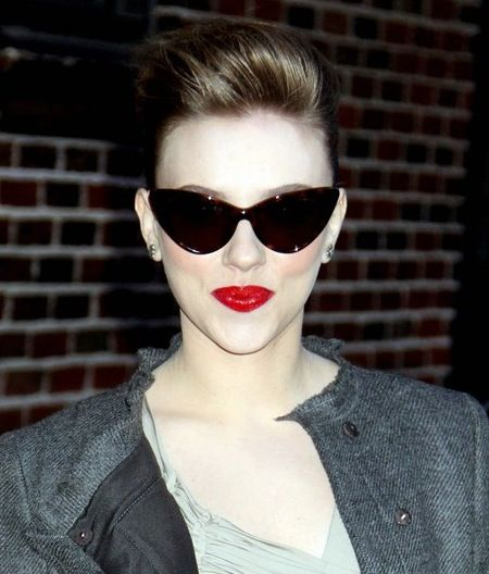 2102ae68b38b scarlett johansson tom ford nikita sunglasses. I own these in black and  they are so classicly 50 s modern glam.