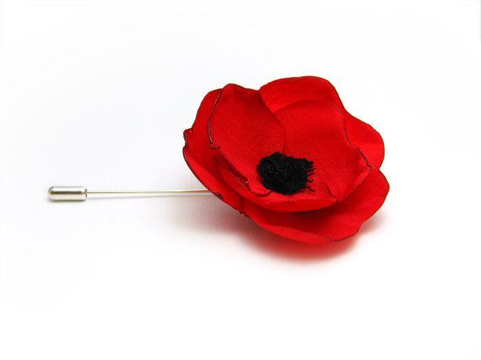 Tie pin red poppy stick hat pin 1800 via etsy clothing tie pin red poppy stick hat pin 1800 via etsy mightylinksfo