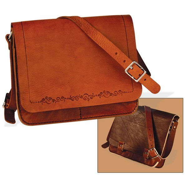Tandy Leather Messenger Bag Kit Horizontal Leather Messenger