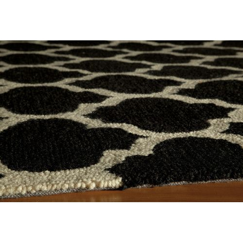 Found It At Joss Main Cara Black Area Rug Hand Tufted Rugs Rugs Black And Grey Rugs