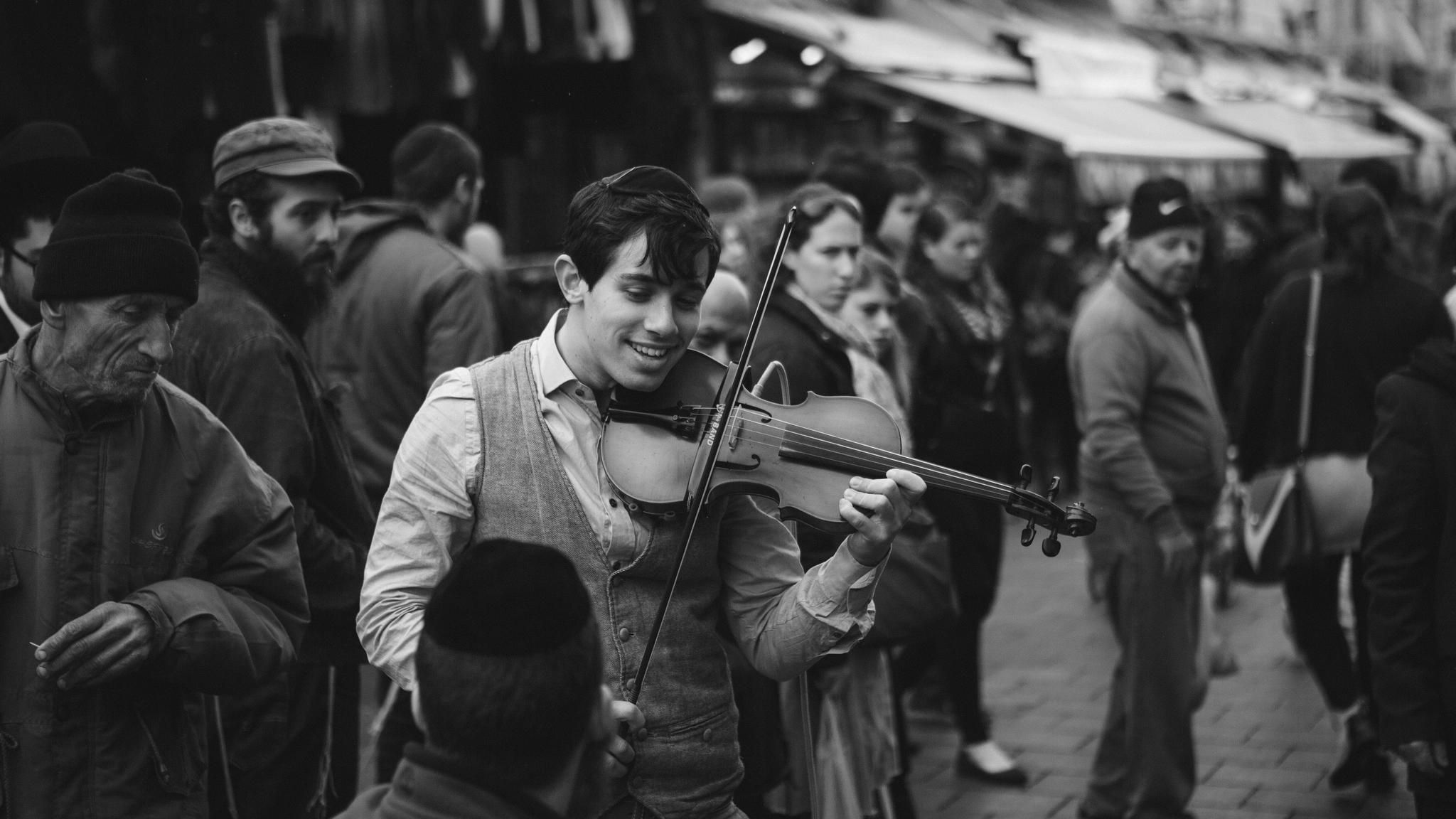 The Street Musician by Silas Baisch on 500px