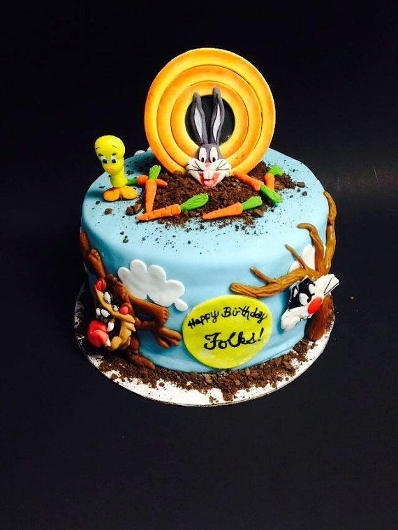 Looney Tunes Inspired Cake Kit Looney tunes Cake and Birthdays