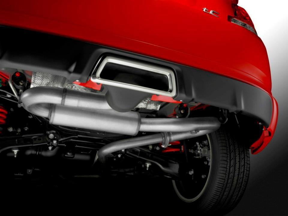 scion tc release series 8 0 exhaust