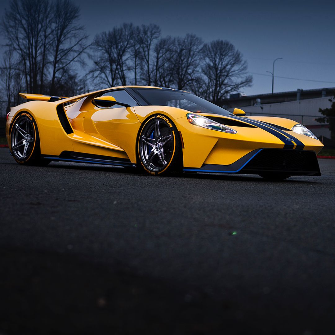 Ford GT On PUR RS10 20X9 Front 20X12 Rear Gloss Lumiere
