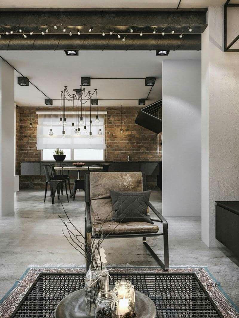 Loft, ideas, home, house, apartment, decor, decoration, indoor ...