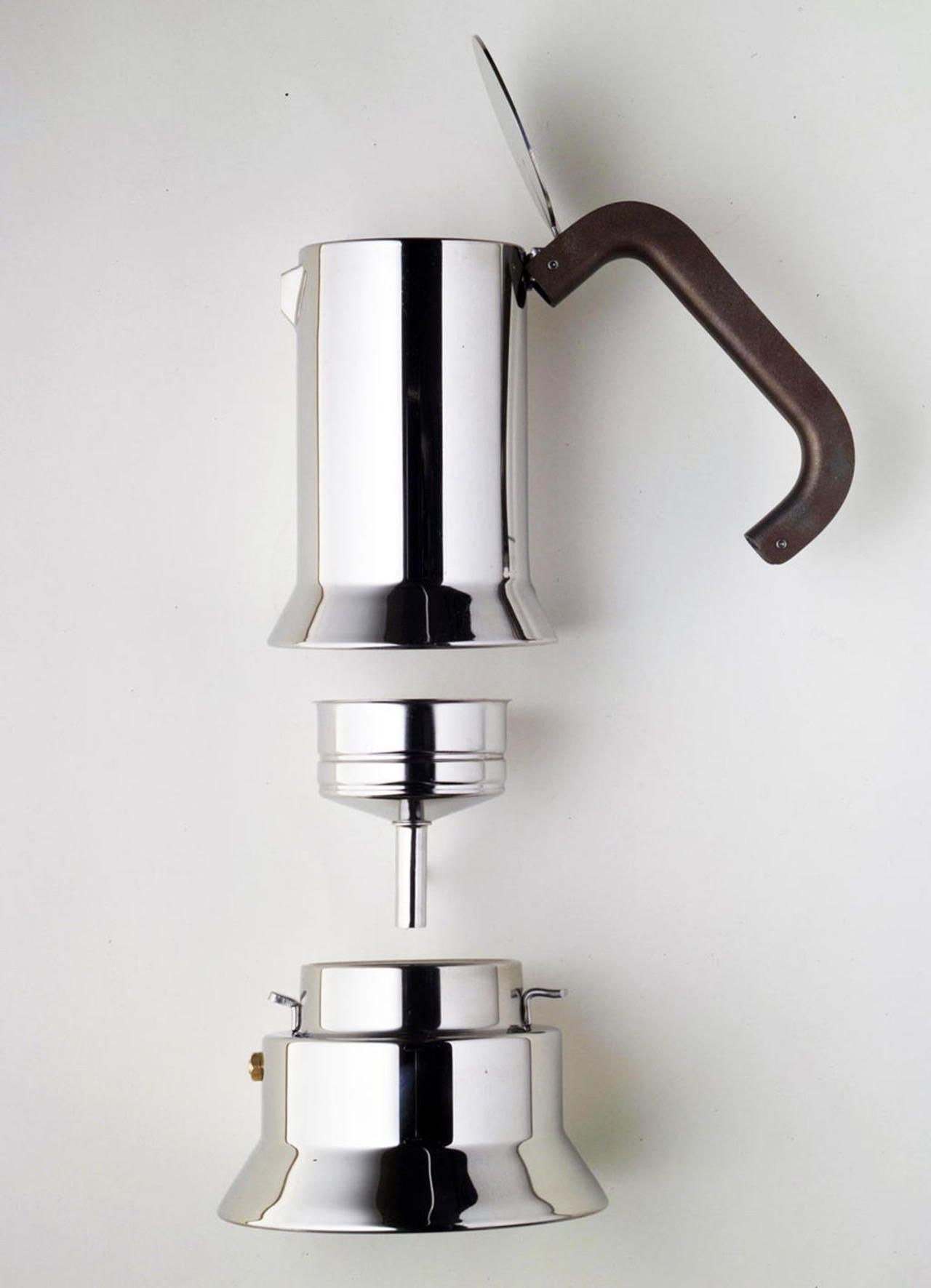 9090 1978 Espresso Coffee Maker Alessi Prize Compasso Du0027Oro 1979 Honourable  Mention At Bio