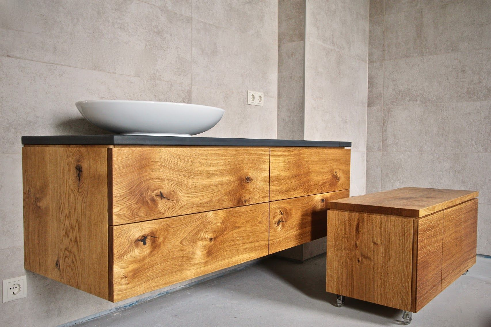 Genial badmöbel aus massivholz Badezimmer bauen