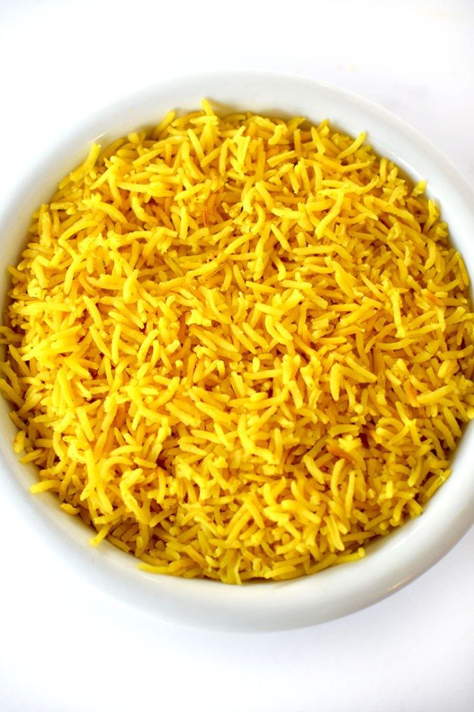Add a Middle Eastern touch to any meal with this Israeli Yellow Rice as your side dish!