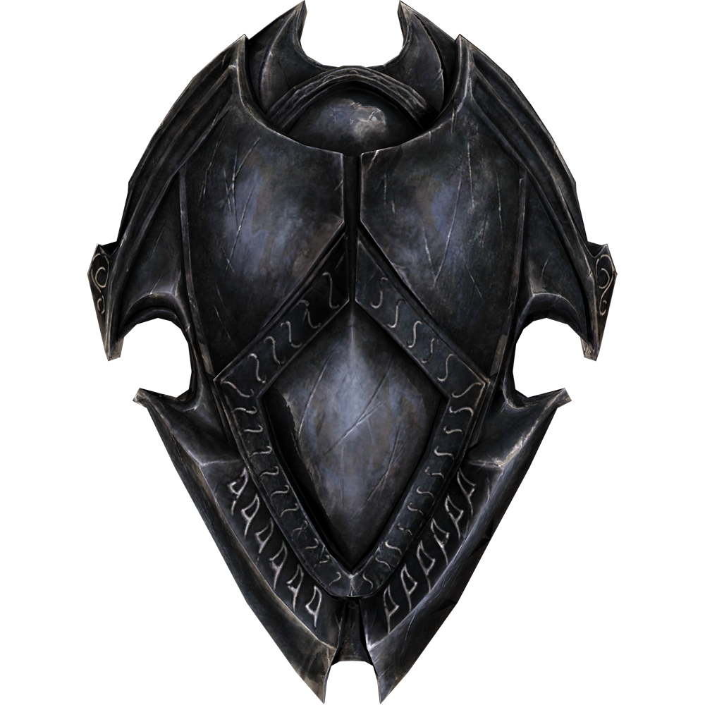 ebony shield skyrim shields fantasy armor armor. Black Bedroom Furniture Sets. Home Design Ideas
