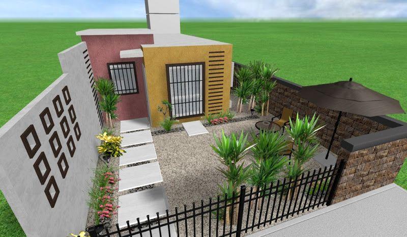 Dise o adornos y decoraciones para un jardin minimalista Decoraciones para jardines de casas